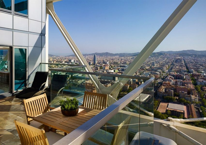 hotel arts - Meet Barcelona from the sky