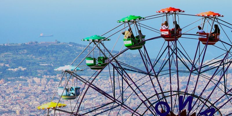 tibidabo - Meet Barcelona from the sky